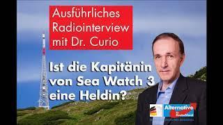 Über die Sea-Watch-Kapitänin Rackete - Dr. Gottfried Curio