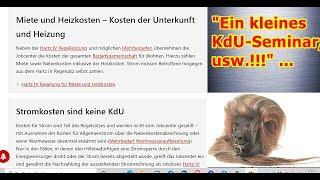 """""""Ein kleines KdU-Seminar, usw.!!!"""" ..."""