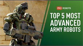 Militär-Roboter - die 5 Besten derzeit (angeblich)