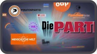 Alle kleinen Parteien zur Bundestagswahl 2021