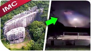 UFO-Sichtungen, abnorme Wolken, Objekt Sonne, Matrix, alte Zivilisationen, Unerklärliches weltweit