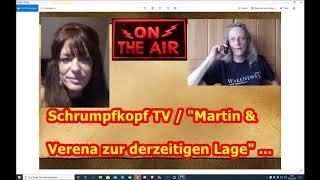 """Trailer: Schrumpfkopf TV """"Martin & Verena zur derzeitigen Lage"""" ..."""