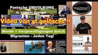 Schrumpfkopf TV / Letztes wakenews radio/tv Video von yt gelöscht und Fan-Post